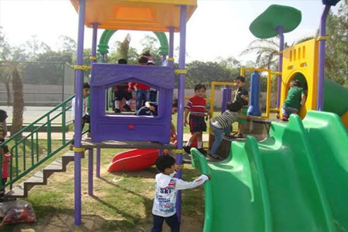 Primary Play Zone
